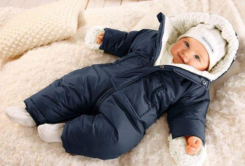 Осенняя и зимняя одежда для новорожденных